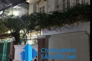 Cho thuê biệt thự Quận 1, HXH đường Trần Khắc Chân