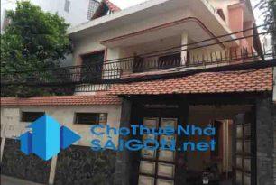 Cho thuê biệt thự Quận Tân bình, HXT đường Nguyễn Thái Bình