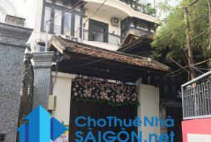 Cho thuê biệt thự Quận Bình Thạnh, hẻm đường Lê Quang Định