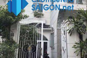 Cho thuê biệt thự Quận Bình Thạnh, MT đường Nơ Trang Long
