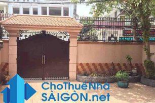 Cho thuê biệt thự Quận Tân Bình – MT đường Lam Sơn