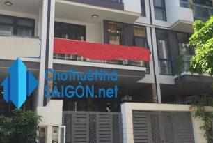 Cho thuê nhà Quận Thủ Đức,  Nhà MT đường số 2 – KĐT Vạn Phúc