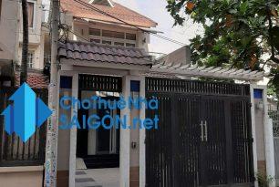 Cho thuê biệt thự Quận Bình Thạnh – HXH đường Bình Quới