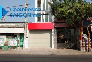 Cho thuê nhà Quận Thủ Đức – Nhà MT đường Kha Vạn Cân
