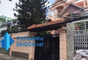 Cho thuê biệt thự Quận Bình Thạnh – HXH đường Lê Quang Định