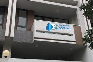 Cho thuê nhà Quận Thủ Đức- Nhà MT đường số 4, KĐT Vạn Phúc