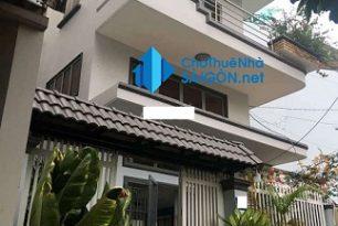 Cho thuê biệt thự Quận Bình Thạnh – HXH đường Trần Bình Trọng