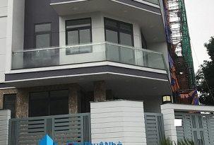 Cho thuê nhà Quận Thủ Đức- Nhà 2MT đường số 7, KĐT Vạn Phúc