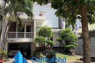 Cho thuê biệt thự Quận Bình Thạnh, HXT đường Bùi Đình Tuý