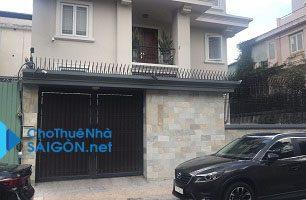 Cho thuê biệt thự Quận 1 – Đường Nguyễn Thành Ý