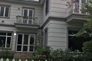 Cho thuê biệt thự Quận Thủ Đức- 2 MT đường, khu Garden Home