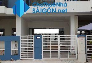 Cho thuê nhà Quận Thủ Đức- Nhà MT đường số 1, KDC Thăng Long Home Hưng Phú